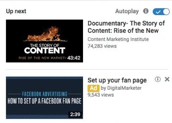 Đây là một quảng cáo YouTube xuất hiện dưới dạng video được tài trợ.