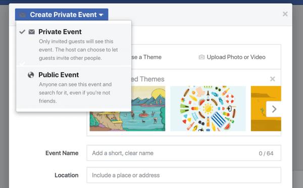 Các sự kiện trên Facebook cung cấp cho doanh nghiệp của bạn một cách để đưa người hâm mộ, người theo dõi và khách hàng vào hội thảo trên web, ra mắt sản phẩm, khai trương hoặc các lễ kỷ niệm khác.