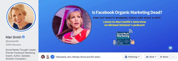 Trang kinh doanh trên Facebook hiển thị những gì bạn bán, trang công khai cho biết bạn là ai