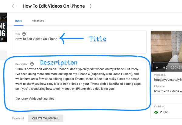Cách sử dụng chuỗi video để phát triển kênh YouTube của bạn, ví dụ mô tả và tiêu đề video YouTube bằng từ khóa